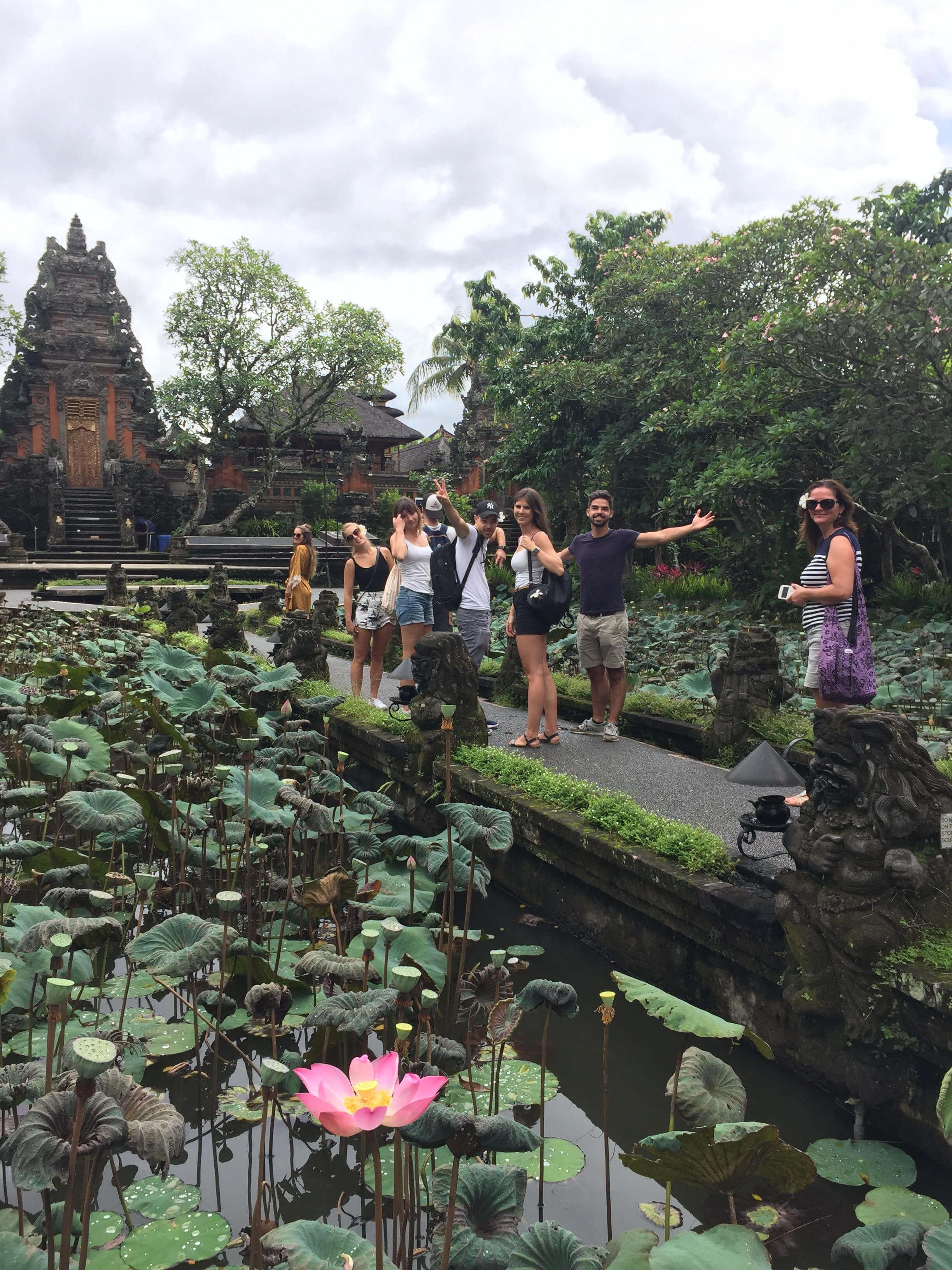 Balinéz szentély Ubudban