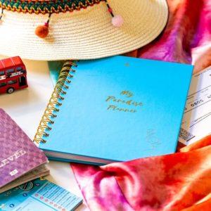 My Paradise Planner útinapló_kék