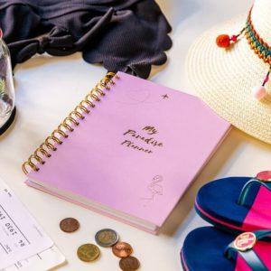 My Paradise Planner útinapló_rózsaszín