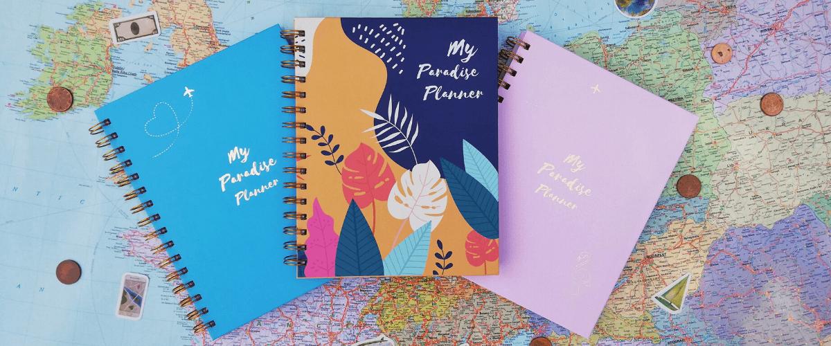 My Paradise Planner útinapló