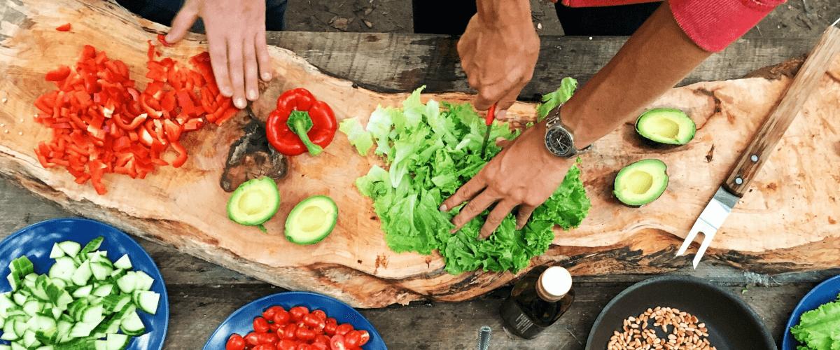 Nyaralás - főzés